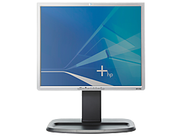 "HP 20"" Widescreen FlatPanel LED HD Monitor."