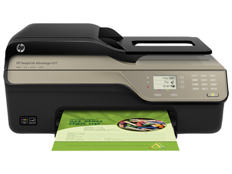 Impressora multifuncional HP Deskjet Ink Advantage 4615