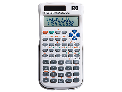 Calculatrice scientifique HP 10s