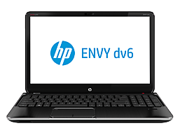HP ENVY dv6t-7300 CTO Quad Edition Notebook PC