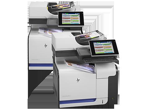 HP LaserJet Enterprise 500 M575 color MPF Downloads van ...