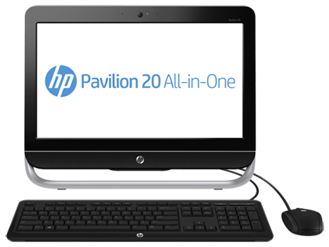 HP Pavilion 20-b310 All-in-One Desktop PC (ENERGY STAR)