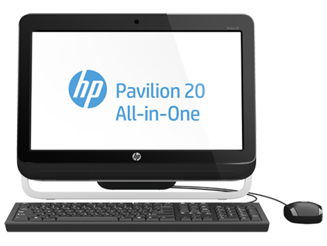 HP Pavilion 20-a100 All-in-One desktop pc-serien