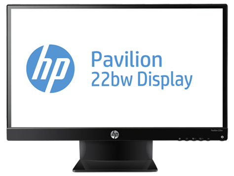 HP Pavilion 22bw 21.5-inch Diagonal IPS LED Backlit Monitor