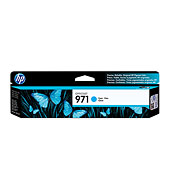 HP 971 Cyan Officejet Ink Cartridge CN622AM
