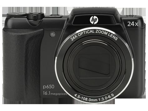 HP p650 Digital Camera