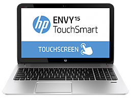 HP ENVY TouchSmart 15-j001tx Notebook PC