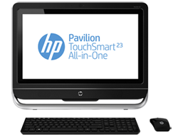 HP Pavilion TouchSmart 23-f250z All-in-One CTO Desktop PC