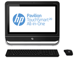 HP Pavilion TouchSmart 20-f215d All-in-One Desktop PC