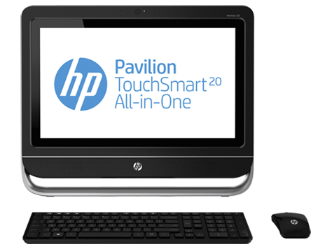HP Pavilion TouchSmart 20-f215d All-in-One Desktop PC (ENERGY STAR)