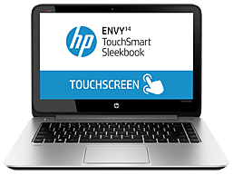 HP ENVY TouchSmart 14-k111nr Sleekbook