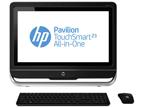 HP Pavilion TouchSmart 23-f255ea All-in-One Desktop PC (ENERGY STAR)