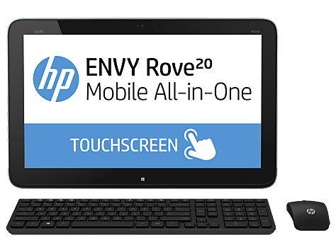 HP ENVY Rove 20-k000ef Mobile All-in-One Desktop PC