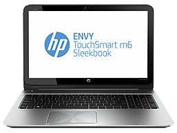 HP ENVY TouchSmart m6-k015dx Sleekbook