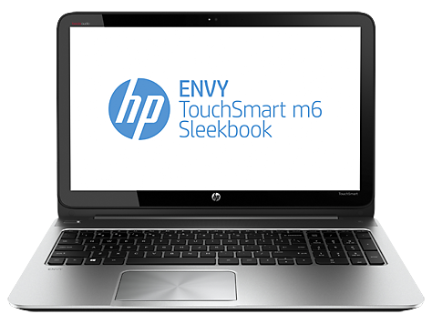 HP ENVY TouchSmart m6-k025dx Sleekbook (ENERGY STAR)