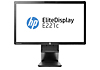 HP EliteDisplay E221c 21.5-inch Webcam LED Backlit Monitor (ENERGY STAR)