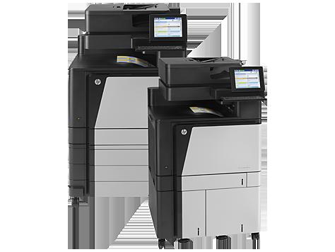 HP Color LaserJet Enterprise flow MFP M880 series
