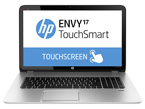 HP ENVY TouchSmart 17-j130us Notebook PC (ENERGY STAR)