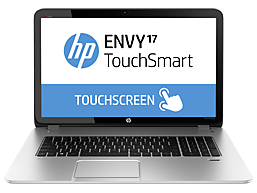 HP ENVY TouchSmart 17t-j100 Quad Edition CTO Notebook PC