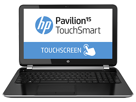 HP Pavilion 15-n210dx TouchSmart Notebook PC (ENERGY STAR)