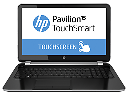 HP Pavilion 15-n210dx TouchSmart Notebook PC