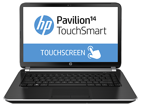 HP Pavilion 14-n203tx TouchSmart Notebook PC (ENERGY STAR)