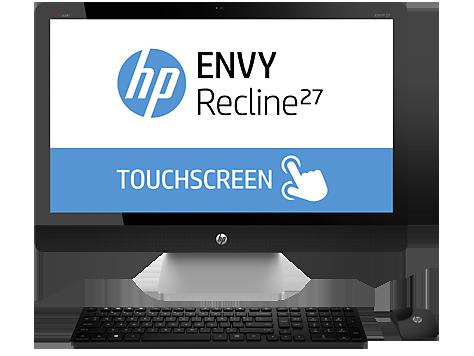 HP ENVY Recline 27-k151 TouchSmart All-in-One Desktop PC ...