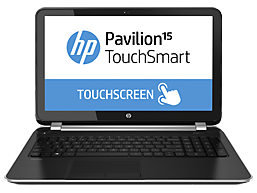 HP Pavilion TouchSmart 15-n007tx Notebook PC