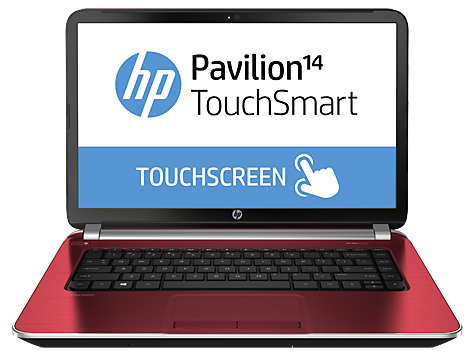 HP Pavilion TouchSmart 14-n005eo Ultrabook (ENERGY STAR)