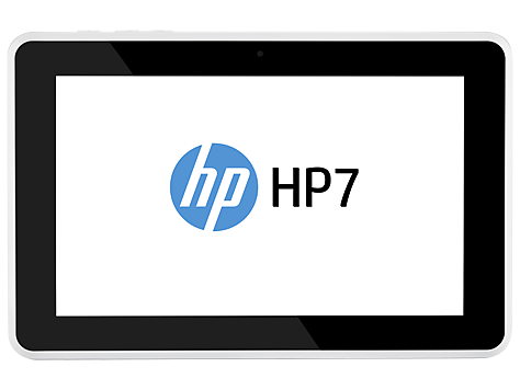 HP 7 surfplatta