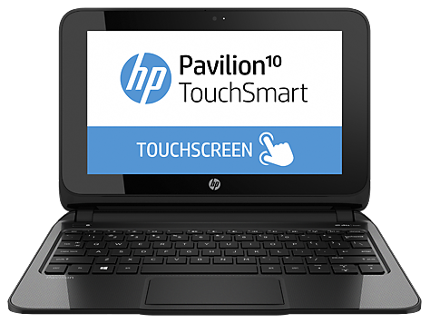 HP Pavilion 10 TouchSmart 10-e010nr Notebook PC (ENERGY STAR)