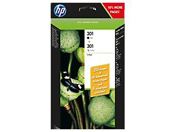 Cartucho de tinta HP 301