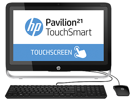 HP Pavilion 21-h100 TouchSmart All-in-One stasjonær PC-serie