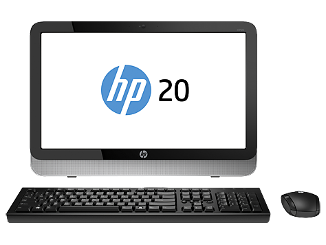 PC Desktop HP serie 20-2200 All-in-One