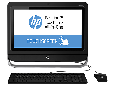 HP Pavilion 20-f400 TouchSmart All-in-One stasjonær PC-serie