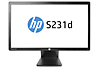 HP EliteDisplay S231d 23-in IPS LED BLU Notebook Docking Monitor (ENERGY STAR)