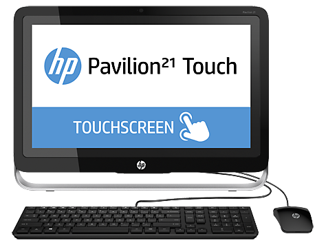 HP Pavilion 21-h000 Touch All-in-One stasjonær PC-serie