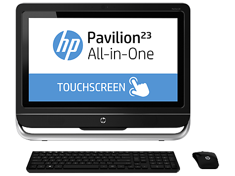 HP Pavilion Touch 23-f291la All-in-One Desktop PC (ENERGY STAR)