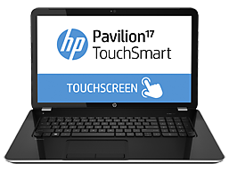 HP Pavilion 17-e160us TouchSmart Notebook PC