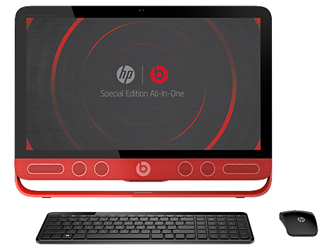 PC Desktop HP Beats Special Edition serie 23-n100 All-in-One