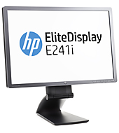 HP EliteDisplay E241i 24-in IPS LED Backlit Monitor (ENERGY STAR)