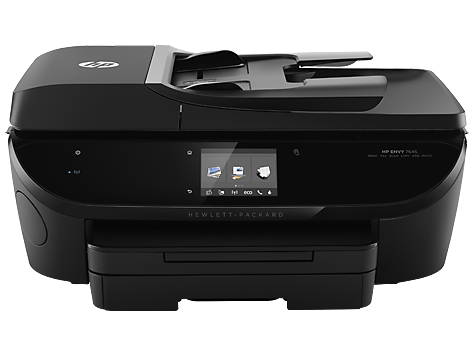 hp envy 7645 e all in one printer product information hp customer support. Black Bedroom Furniture Sets. Home Design Ideas