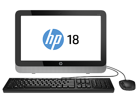 HP 18-5100 All-in-One Stasjonær PC-serien