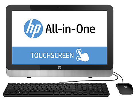 PC Desktop HP serie 22-2000 All-in-One