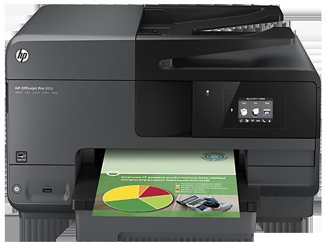 Impressora e-All-in-One HP Officejet 8610