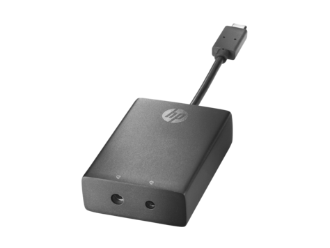 HP USB-C til 3,0 mm og 4,5 mm-adapter