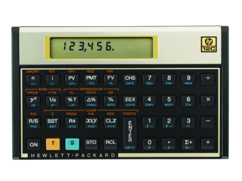 Calculadora financiera HP 12C