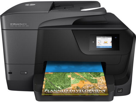 HP OfficeJet Pro 8710 All-in-One Printer series