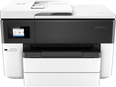 hp officejet pro 7740 wide format all in one printer. Black Bedroom Furniture Sets. Home Design Ideas