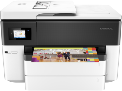 Impressora Multifuncional de Formato Largo HP Officejet Pro 7740